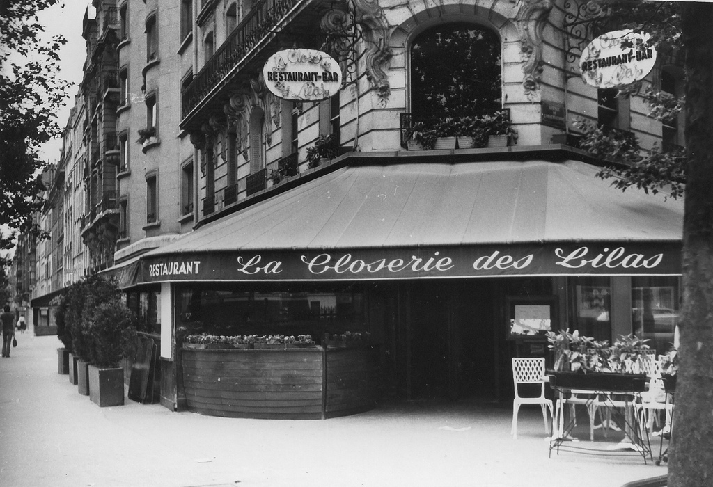 Lindsay Short-form | The Lost Generation; Cafes in Paris | La Closerie de Lilas