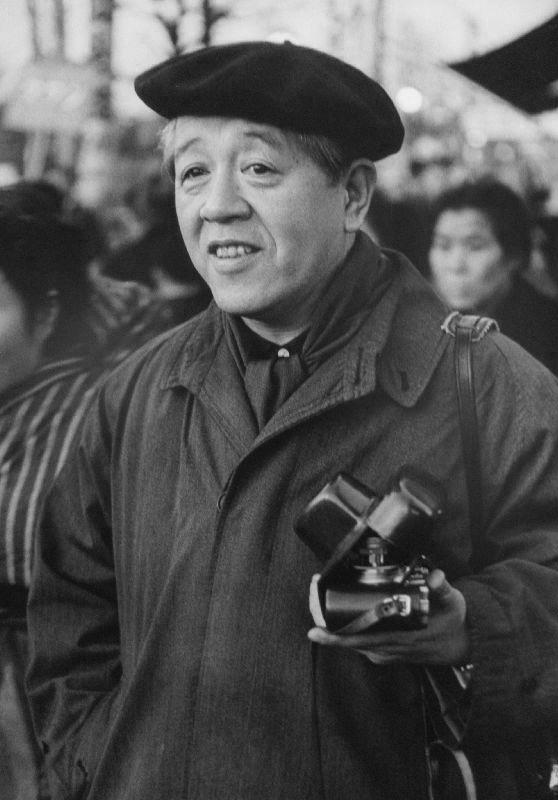 Lindsay Photo Essay | Ihei Kimura's Intimate Observations | Portrait of Ihei Kimura, 1956. Photo by Takeyoshi Tanuma.