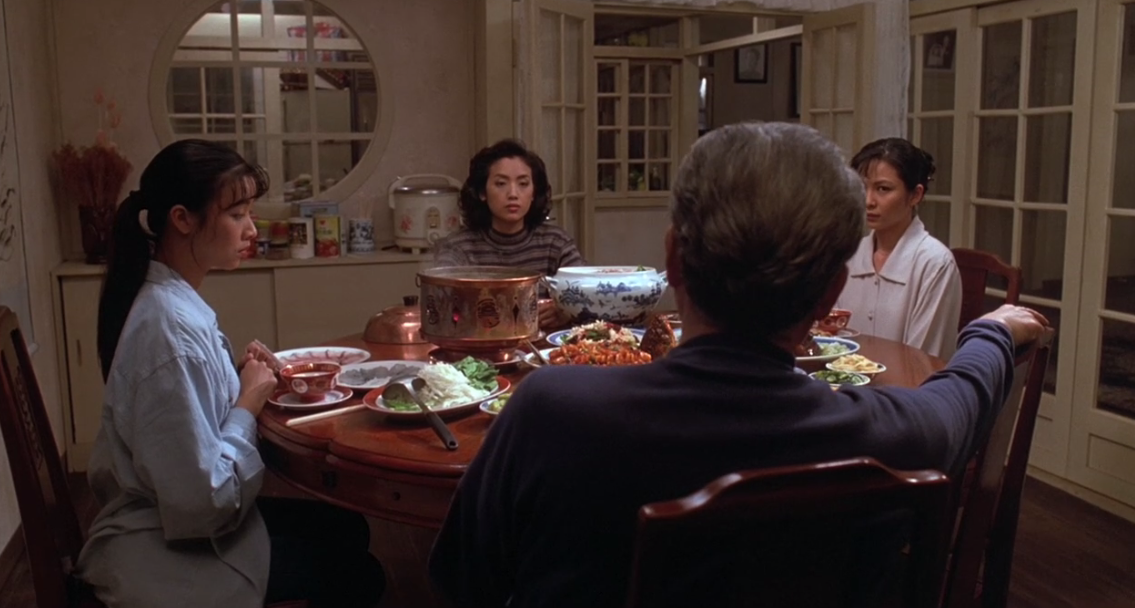 "Lindsay List | Six Signature Dishes from the World of Cinema | Dinner scene from Ang Lee's ""Eat Drink Man Woman,"" (1994)"