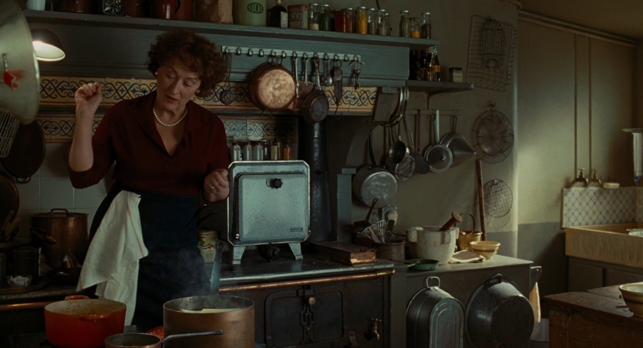 "Lindsay List | Six Signature Dishes from the World of Cinema | Meryl Streep as Julia Child in Nora Ephron's ""Julie and Julia,"" (2009)."
