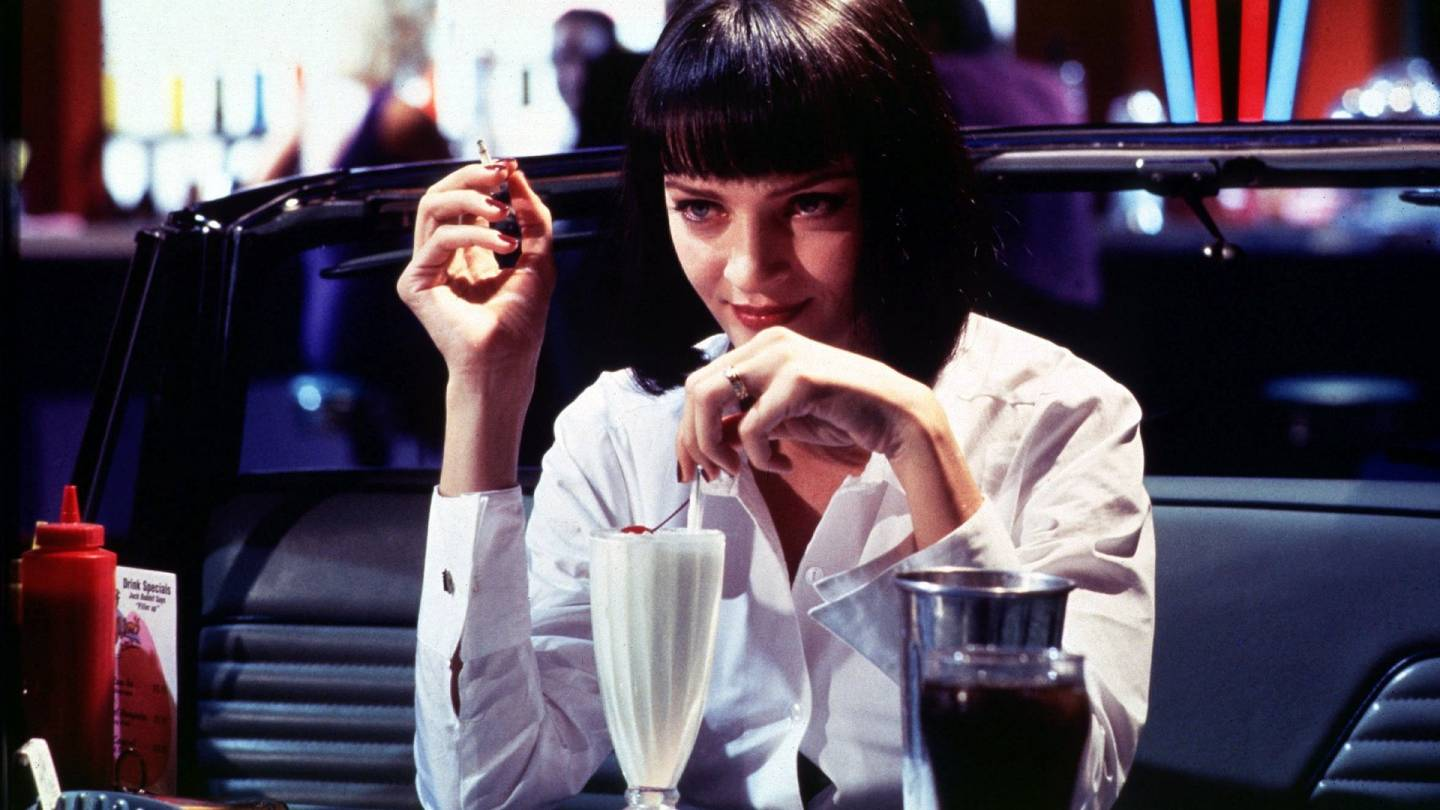 "Lindsay List | Six Signature Dishes from the World of Cinema | Uma Thurman as Mia Wallace in Quentin Tarantino's ""Pulp Fiction,"" (1994)"