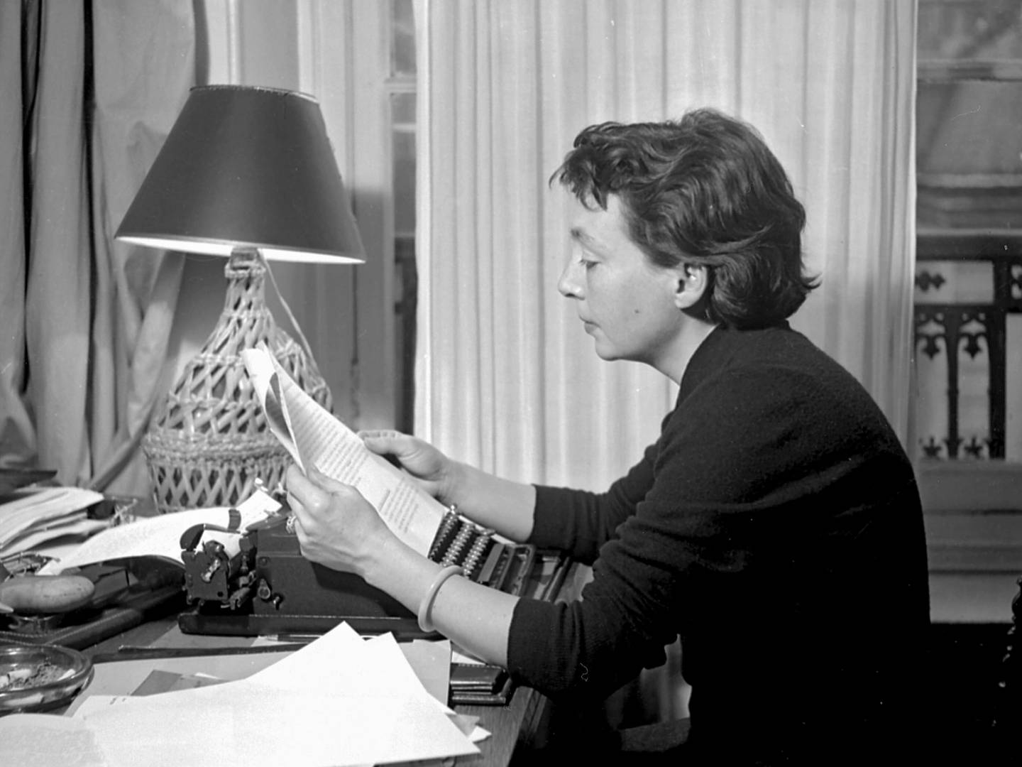 Lindsay Book Review | In the Heat and the Haze: Marguerite Duras's Love Affair | Photo by Boris Lipnitzki, 1955