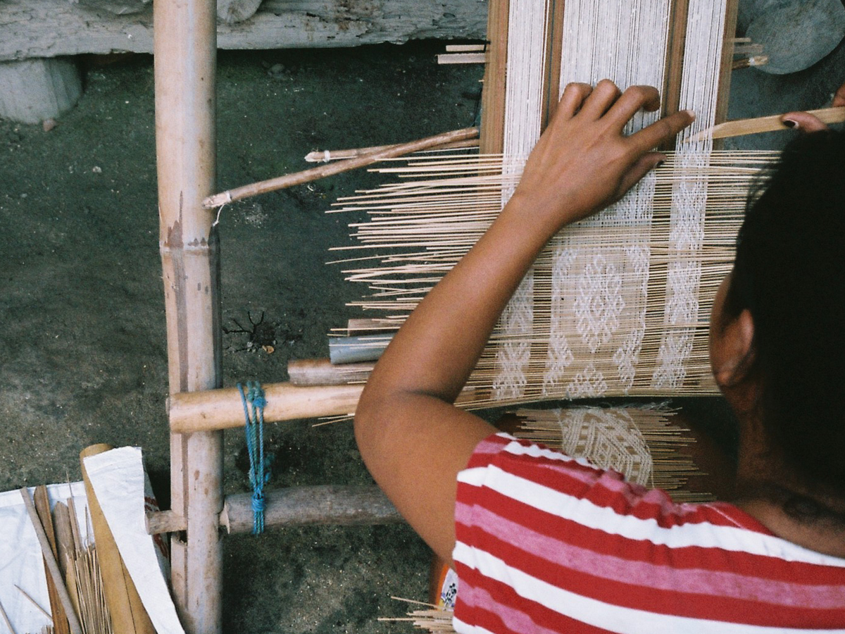 Lindsay Photo Essay | Traditional Ikat Weaves Together Sumba's Stories | Photo by Jeanette Wilkinson for Lindsay
