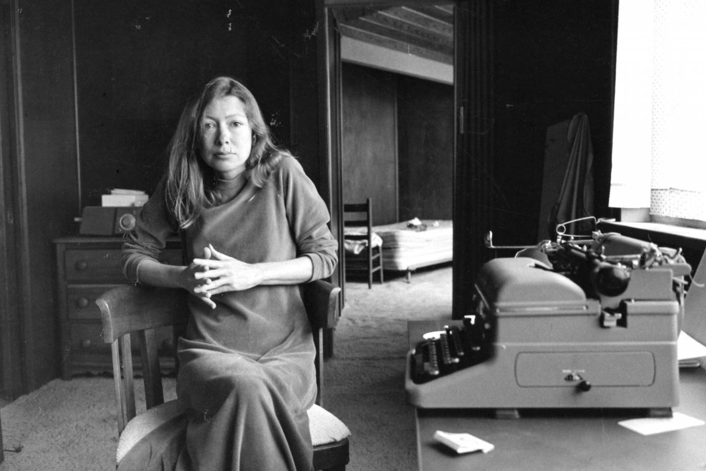 Lindsay | Joan Didion: Living and Writing Between LA and New York City | Photo by Jill Krementz, 1972