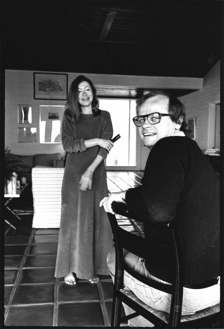 An Essay About Health Joan Didion And John Gregory Dunne In Their Home In California  March   Photo By Jill Krementz Essay On Myself In English also Compare And Contrast Essay High School And College Joan Didion Living And Writing Between La And New York City  Lindsay English Essay Websites