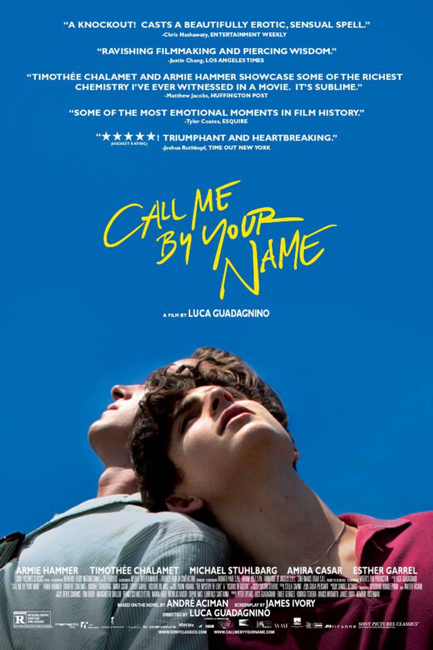 Lindsay Film Review | Call Me By Your Name: a Tale of Inimitable Love Leaves its Mark