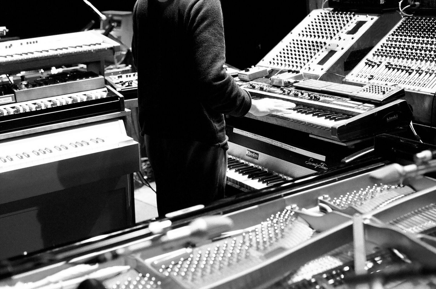 Lindsay Interview | Nils Frahm on Improvising Life and Music in Berlin| Photo by Beth Wilkinson for Lindsay
